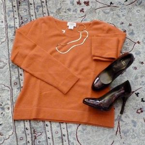 Cashmere Sweater NWT Talbots Med